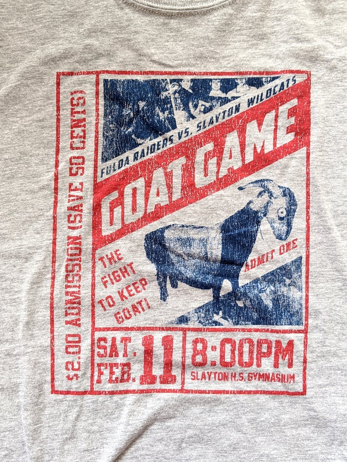 Image of Goat Game tees