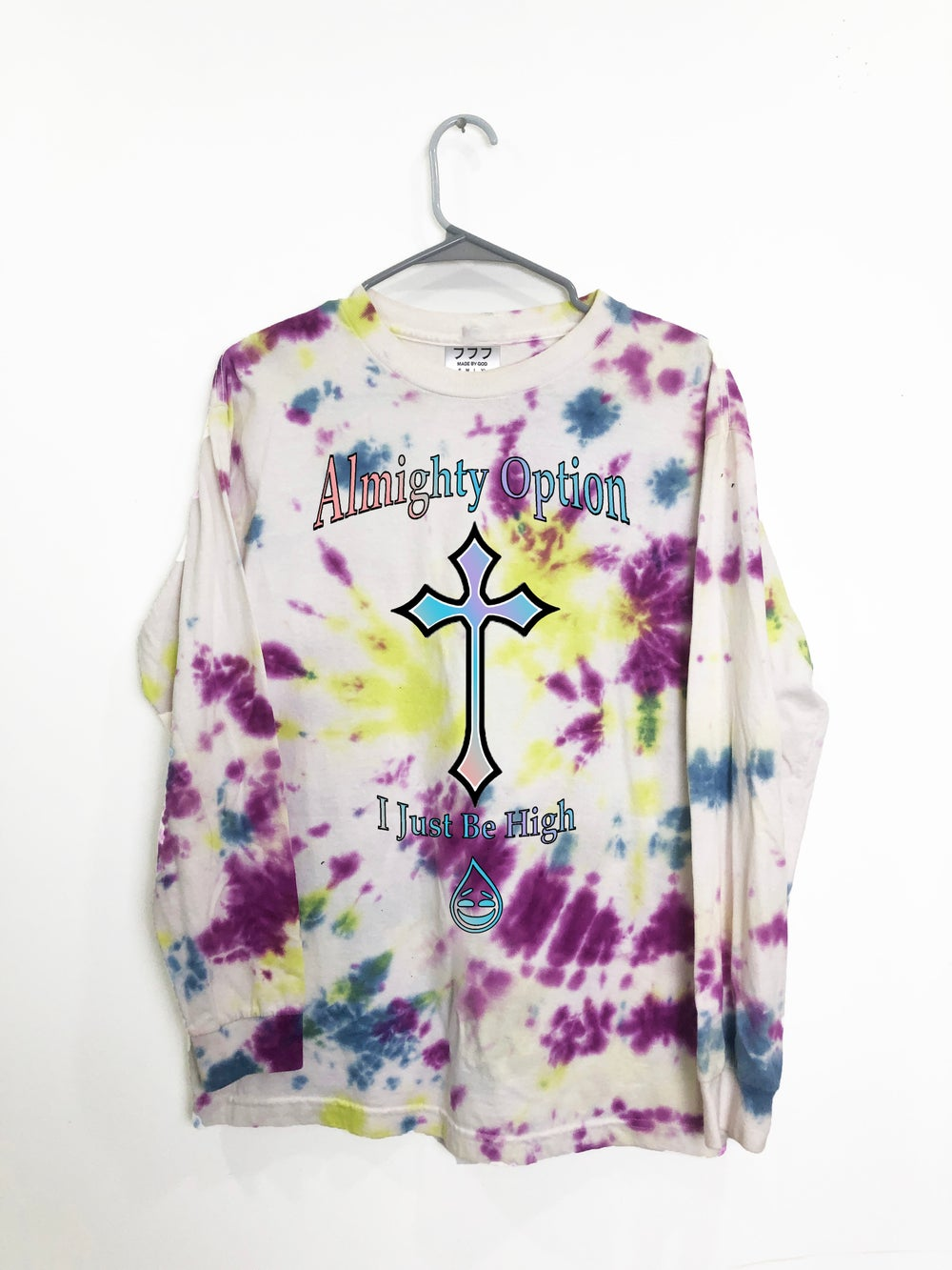 Image of ALMIGHTY OPTION TIE DYE LONG SLEEVE