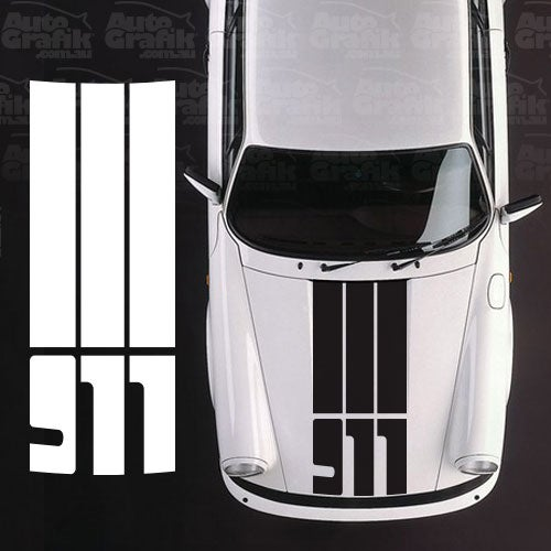 Image of G-SERIES HOOD SAFETY STRIPES