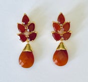 Image of Carnelian with faceted drop