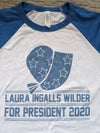 Laura Ingalls Wilder For President 2020 tees
