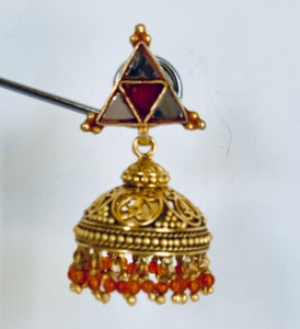 Image of classic bell shaped earring