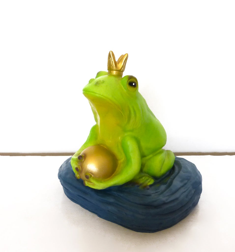 Image of Frog Prince Lamp
