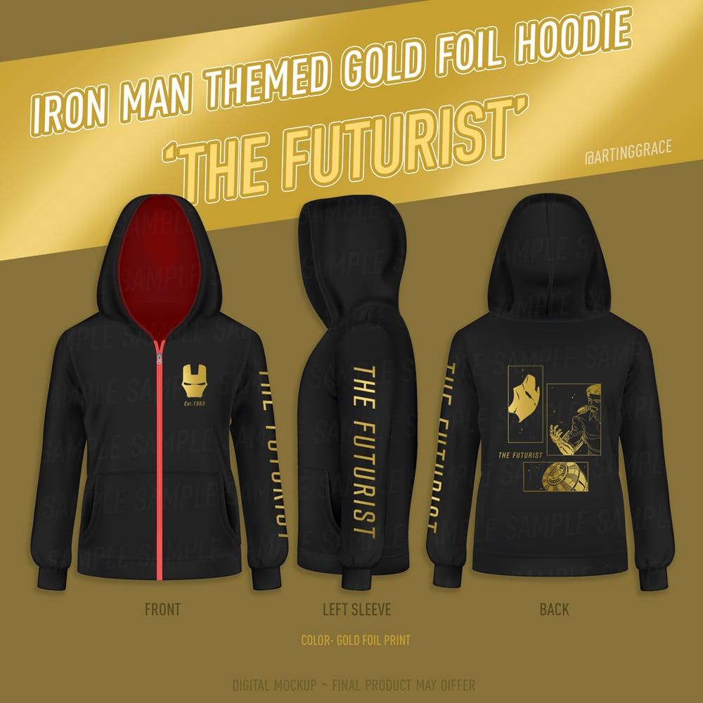 Image of PREORDER [Hoodie] Tony Stark ★ Iron Man