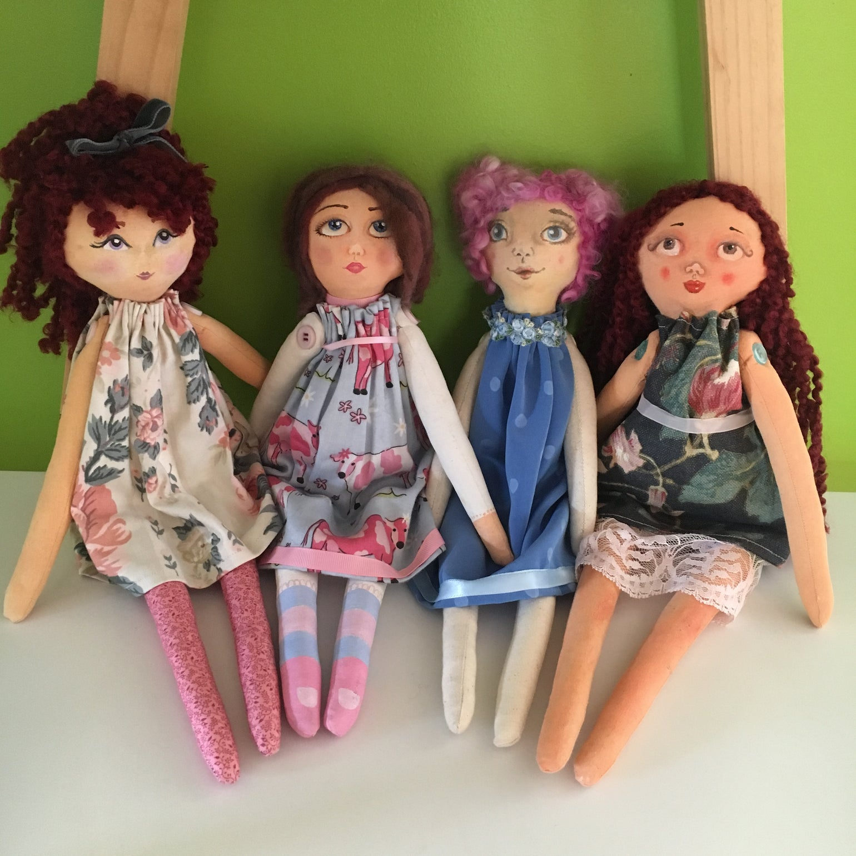 Image of Cloth Dolls