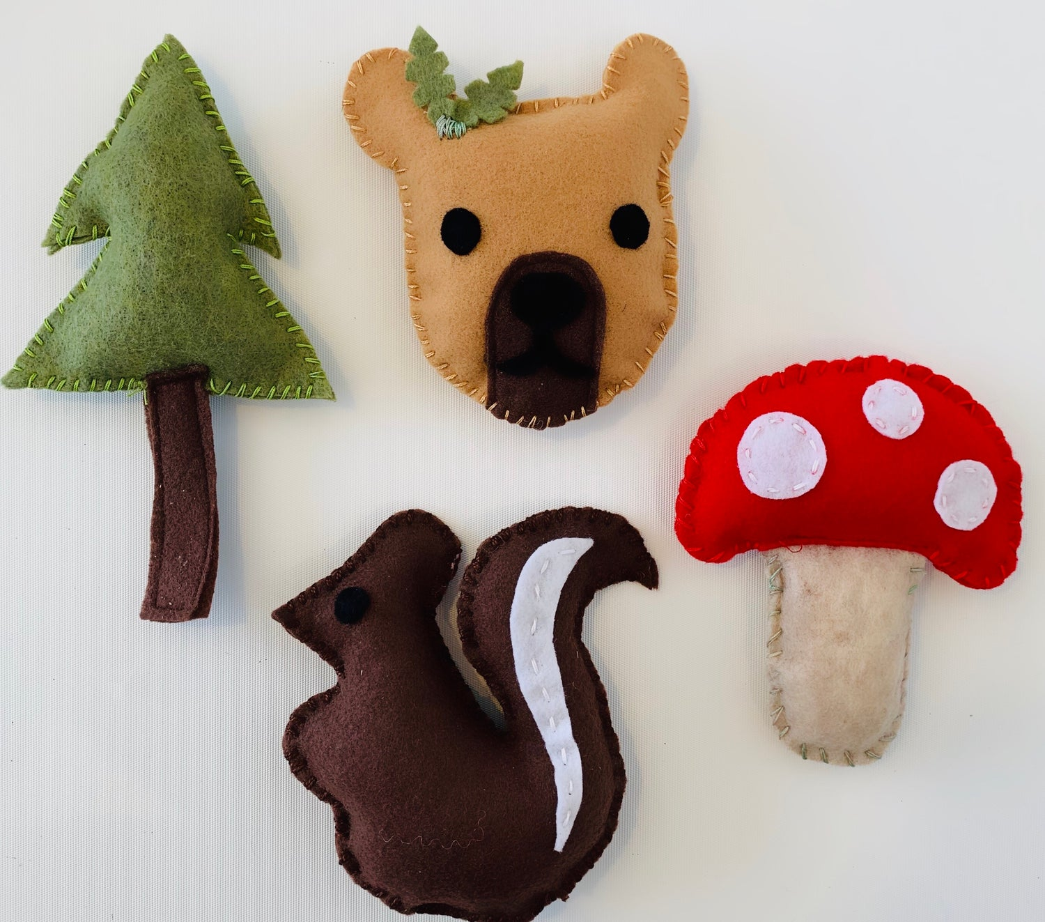 Image of Woodland Critters Felt Kit