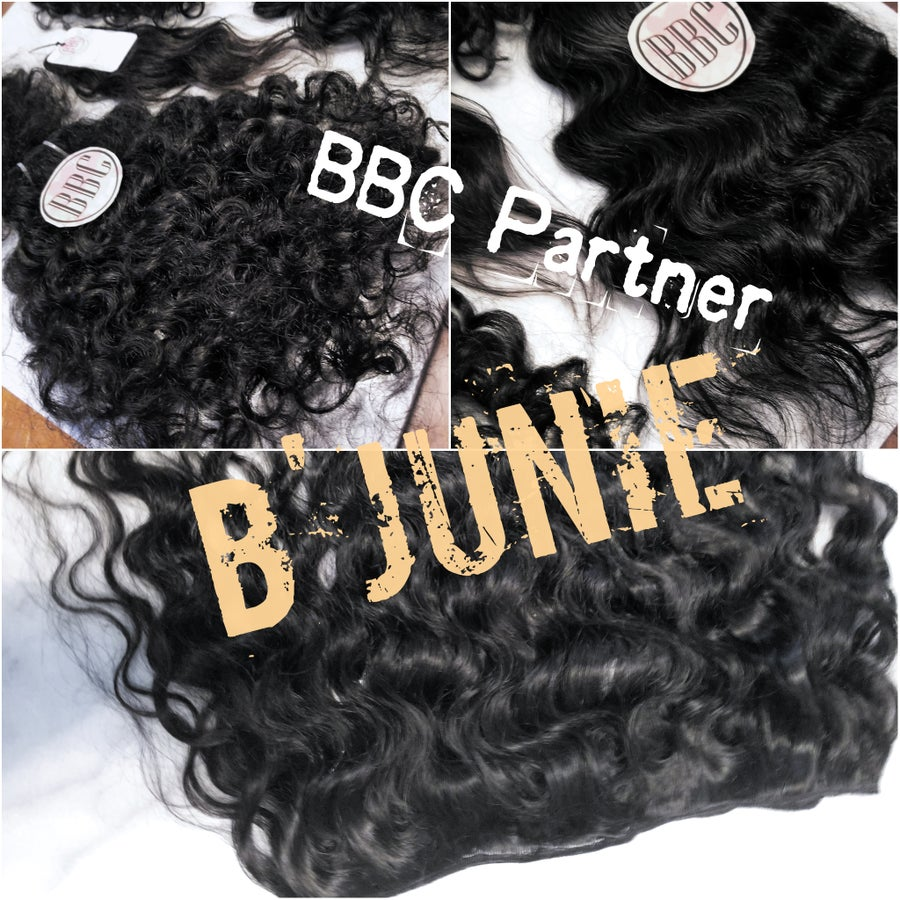 Image of B'Junie Raw Indian Hair Sample Box