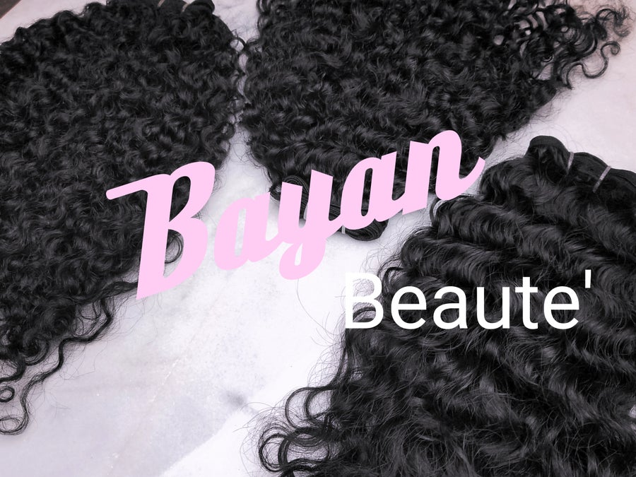Image of Bayan Beaute' Raw Burmese Hair Sample Box