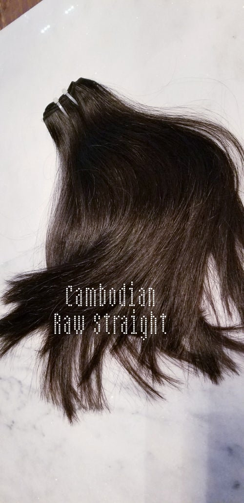 Image of Cambody Raw Cambodian Hair Sample Box  (Black Friday Pre-Sale)
