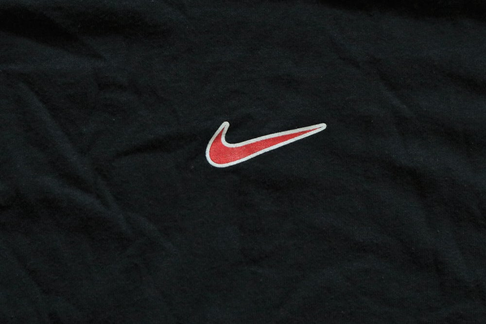 Image of Vintage 1990's Nike Air Center Swoosh T-Shirt Sz.L (Youth)