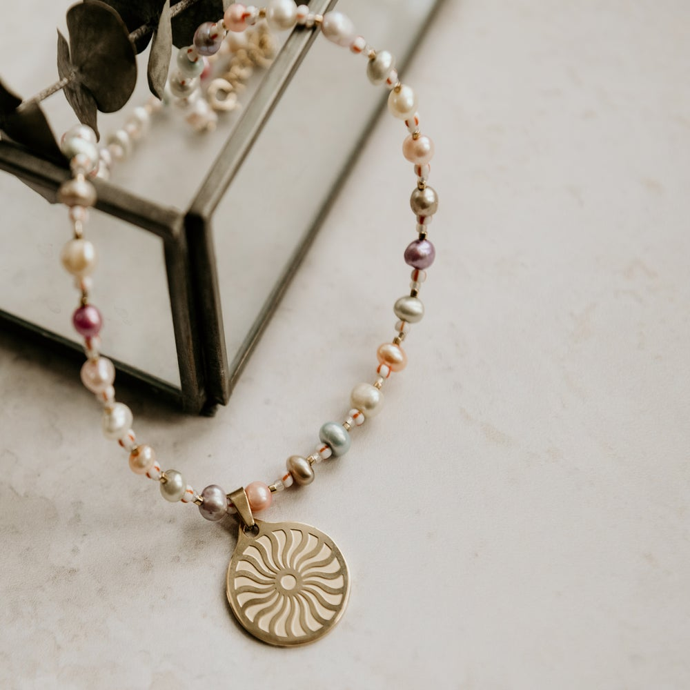 Image of Karma Sun Necklace