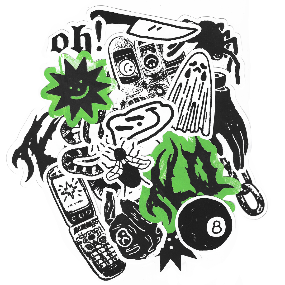 Image of MIXED STICKER PACK