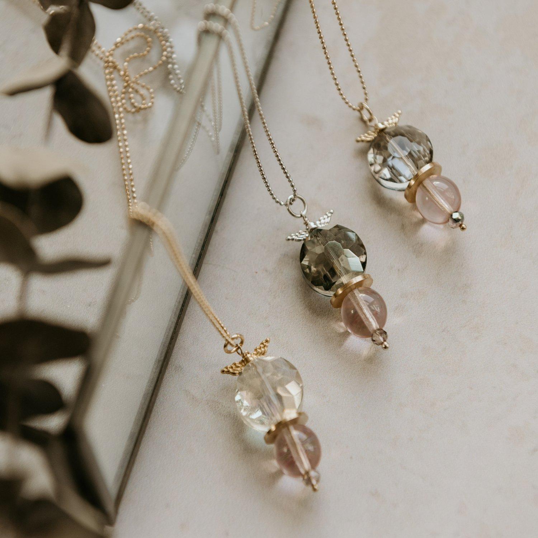 Image of Angela Angelwing Necklace