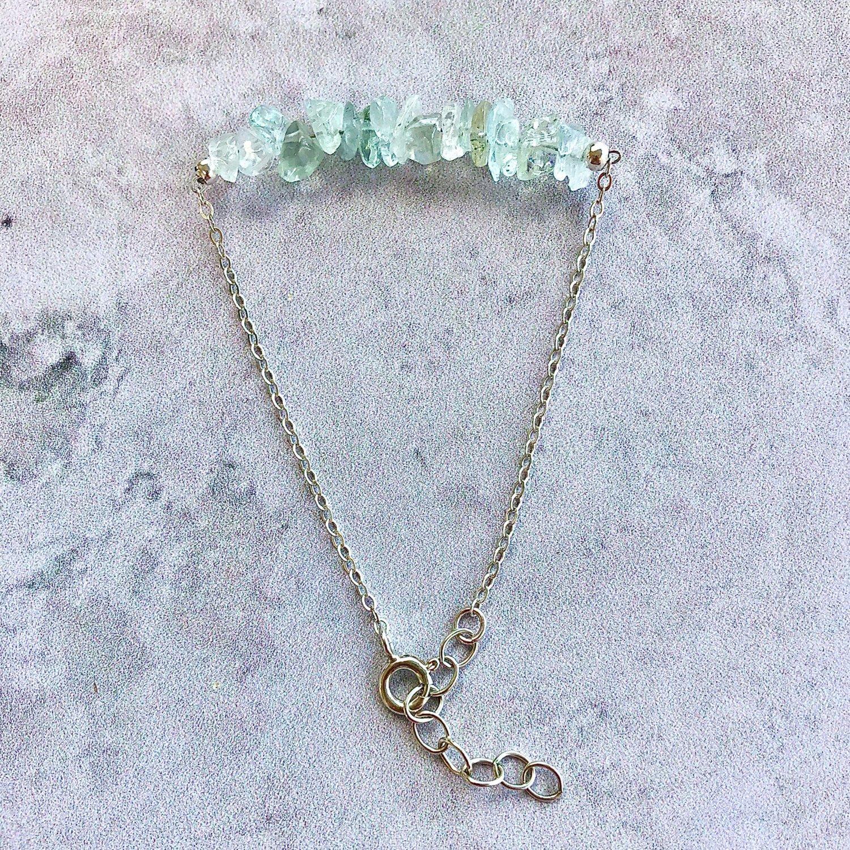 Image of Aquamarine Bracelet