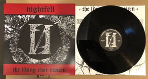 Image of NIGHTFELL 'The Living Ever Mourn' lp