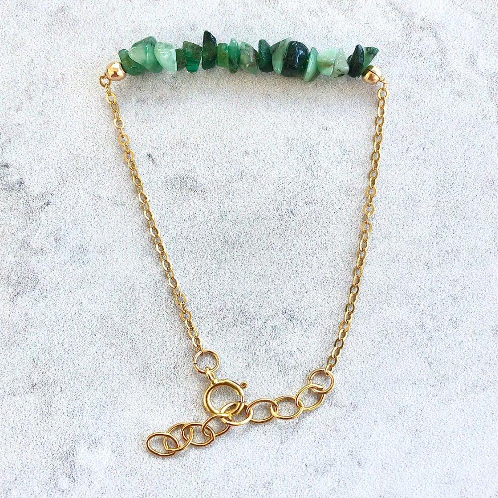 Image of Emerald Bracelet