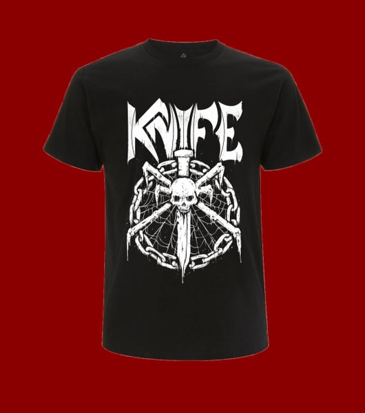 Image of KNIFE - Shirt (chain/logo)