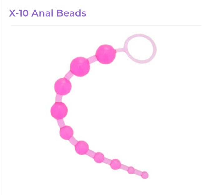Image of X10 Anal Beads