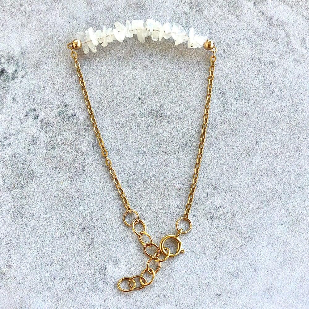 Image of Moonstone Bracelet