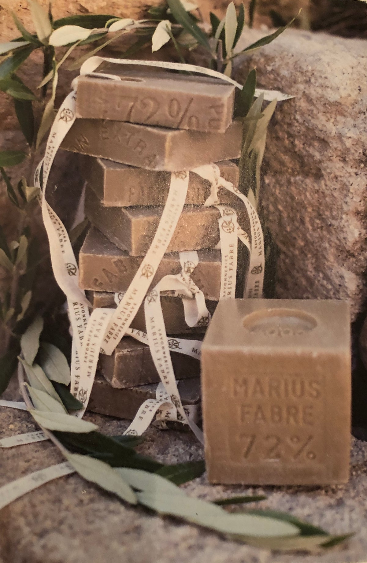 Image of Olive Oil Marseille Soap Slice