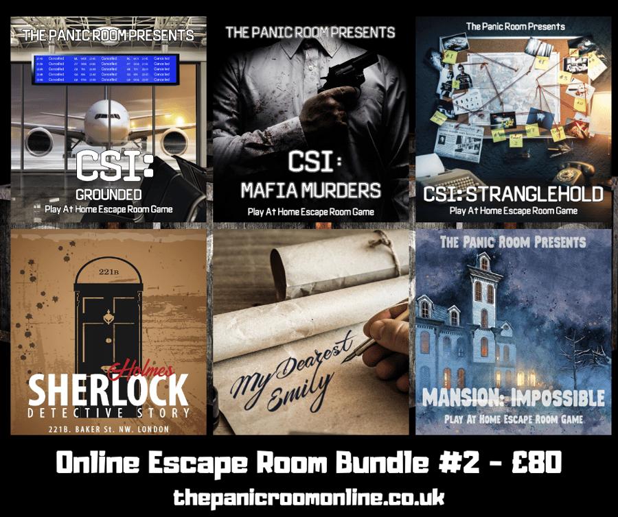 Image of Online Escape Room Bundle #2