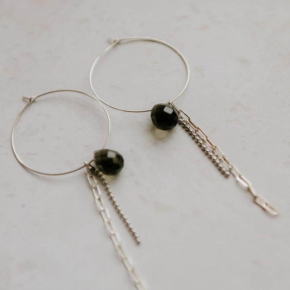 Image of Rine Hoop Earrings