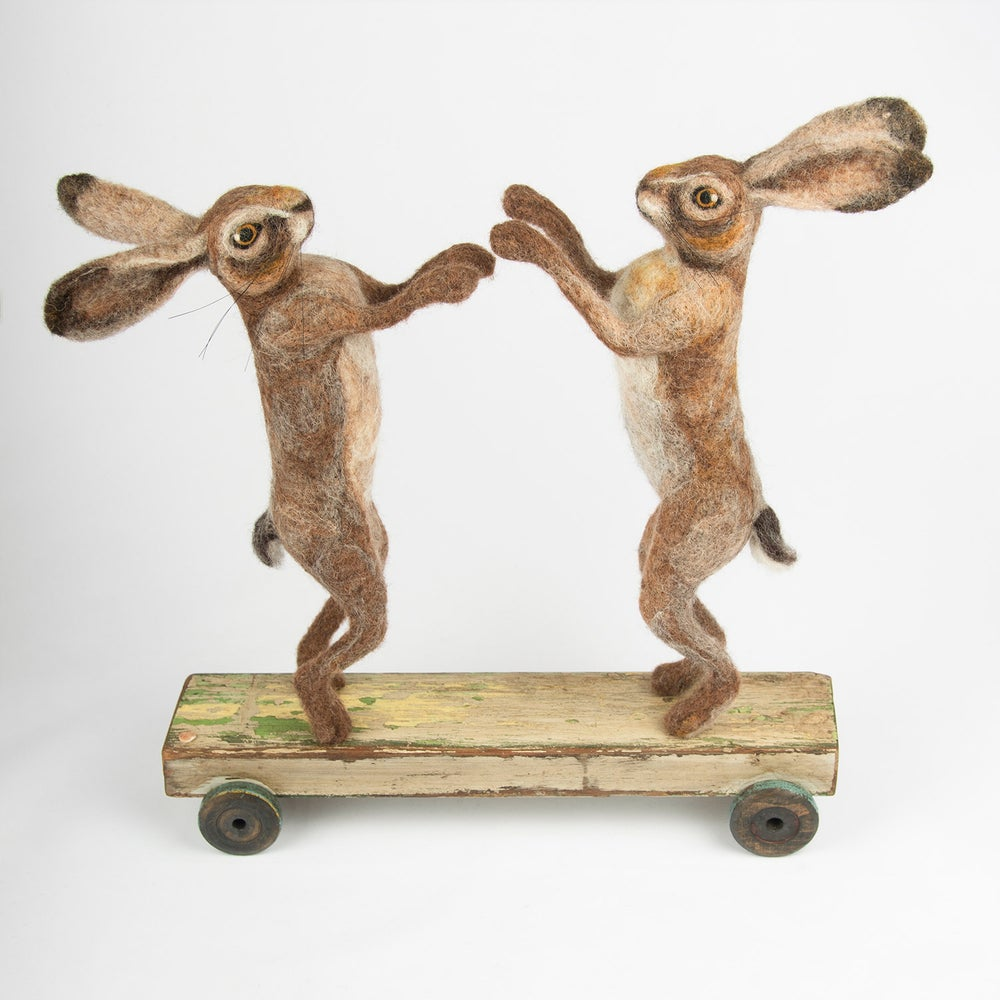 Image of Boxing Hares, Vintage Collection