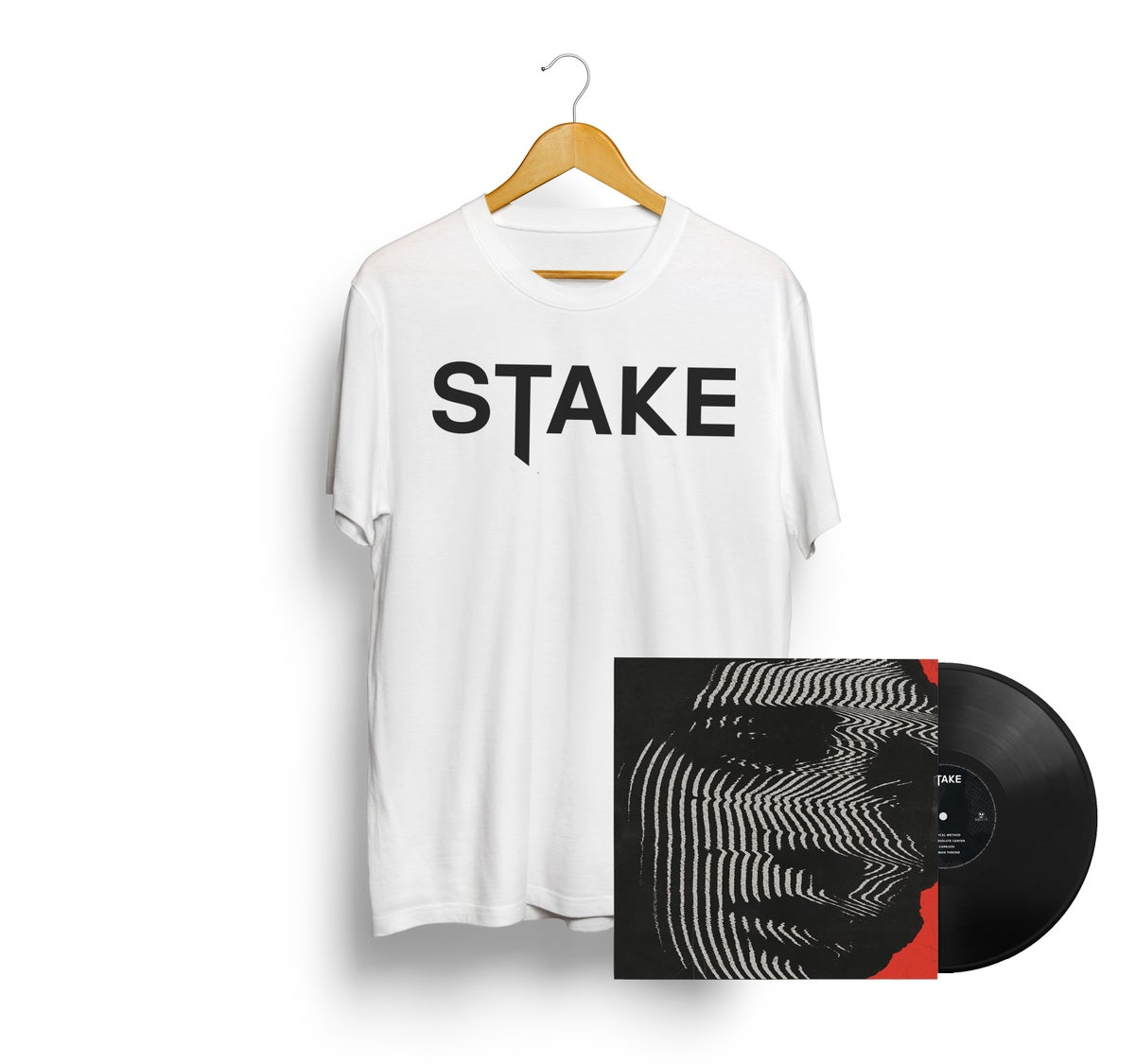 Image of Logoshirt White + Critical Method LP // Packagedeal //