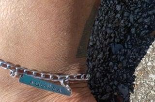 Image of Kuumba aluminum anklet