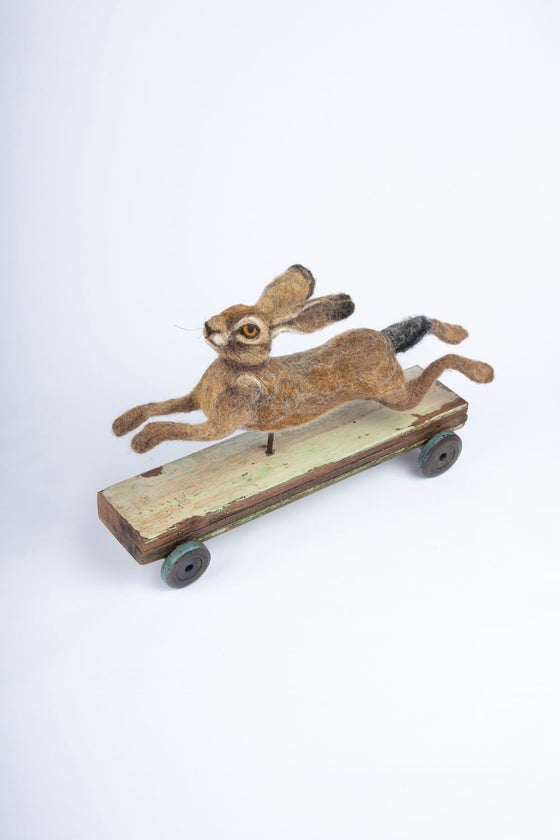 Image of Running hare, (Vintage Collection)