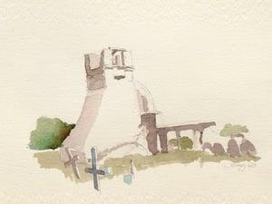 Image of Taos Pueblo Church Ruins