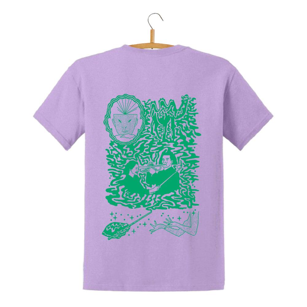 Image of Super Quiet X Ramon Keimig T-Shirt