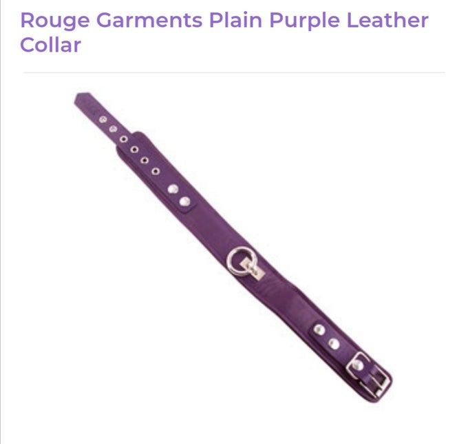 Image of Rouge Garments Leather Collar