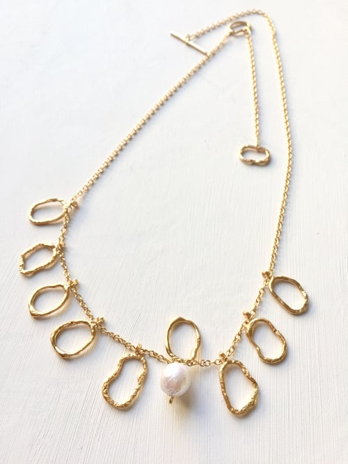 Image of Indian summer Necklace Baroque pearl