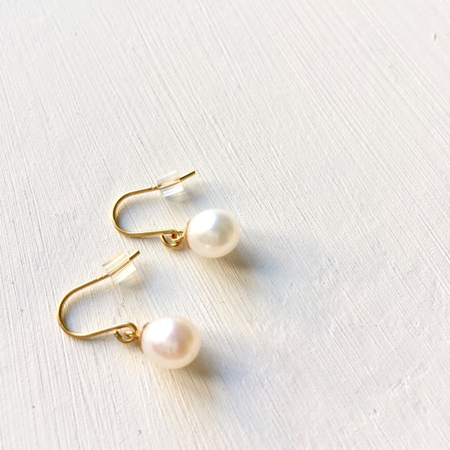 Image of Indian Summer Pearl Earrings Various finished