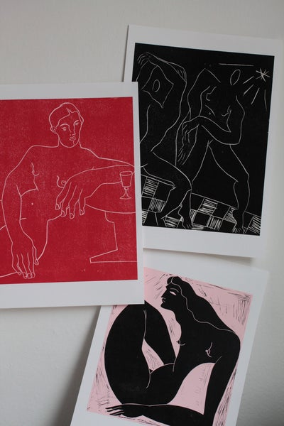 Image of 3 prints for 50