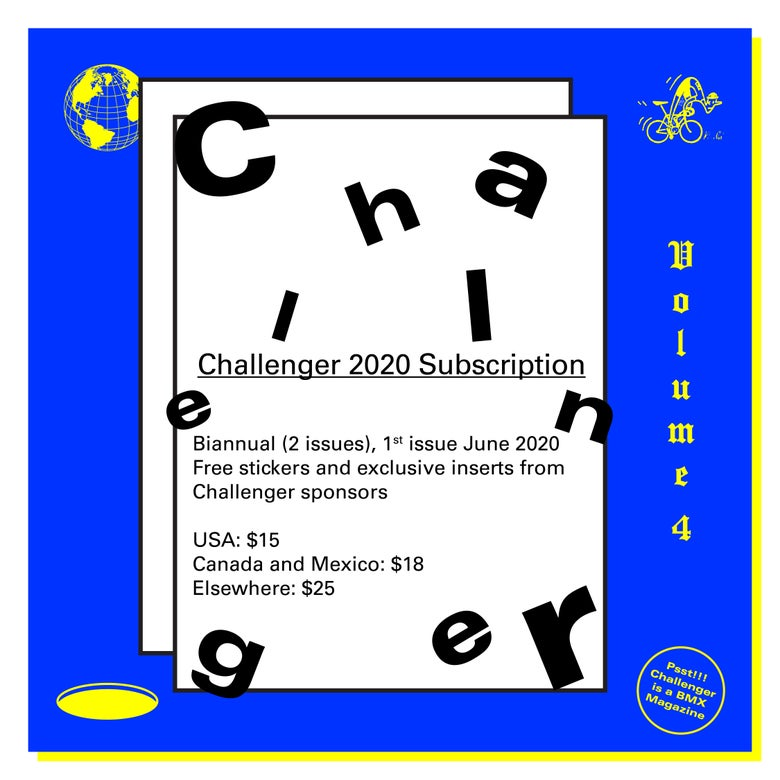 Image of Challenger 2020 Subscription