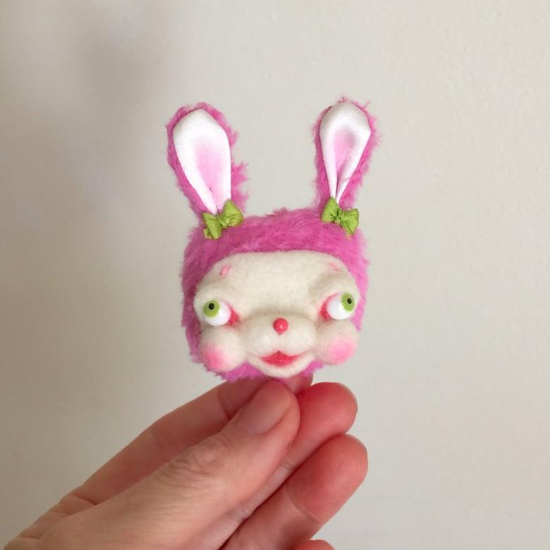 Image of Baby Bunny Brooch #1