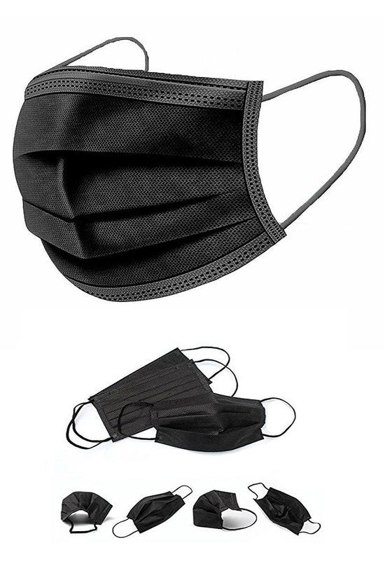 Image of Black Disposable Masks