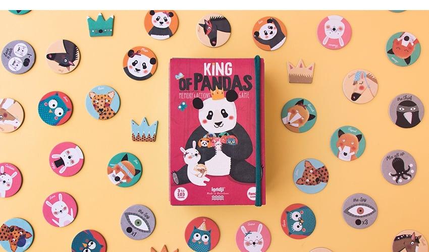 MEMORY KING OF PANDAS