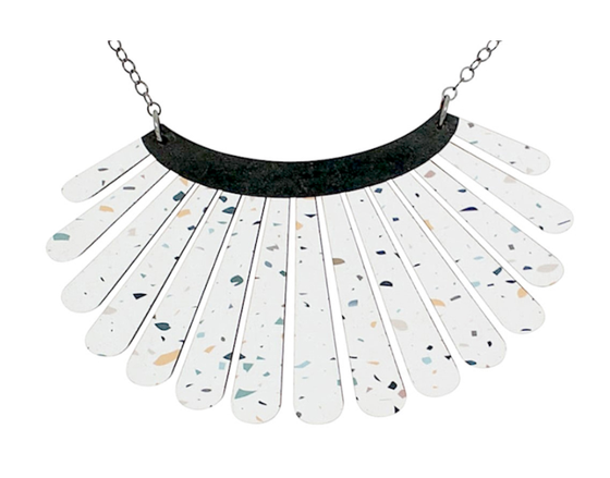 Image of Splatter Shell Necklace