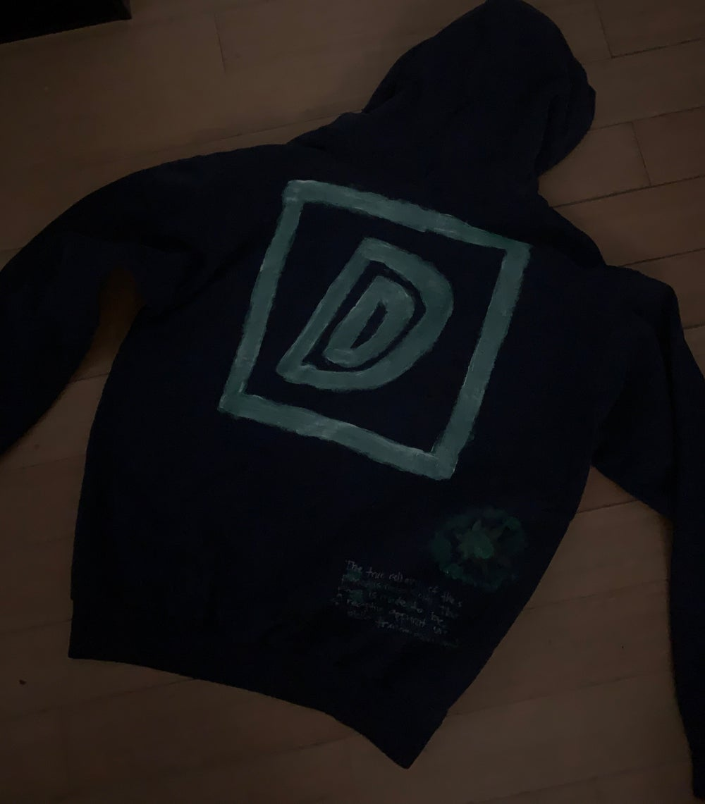DirtyDiggs 1 of 1 Hoodie in Midnight Blue