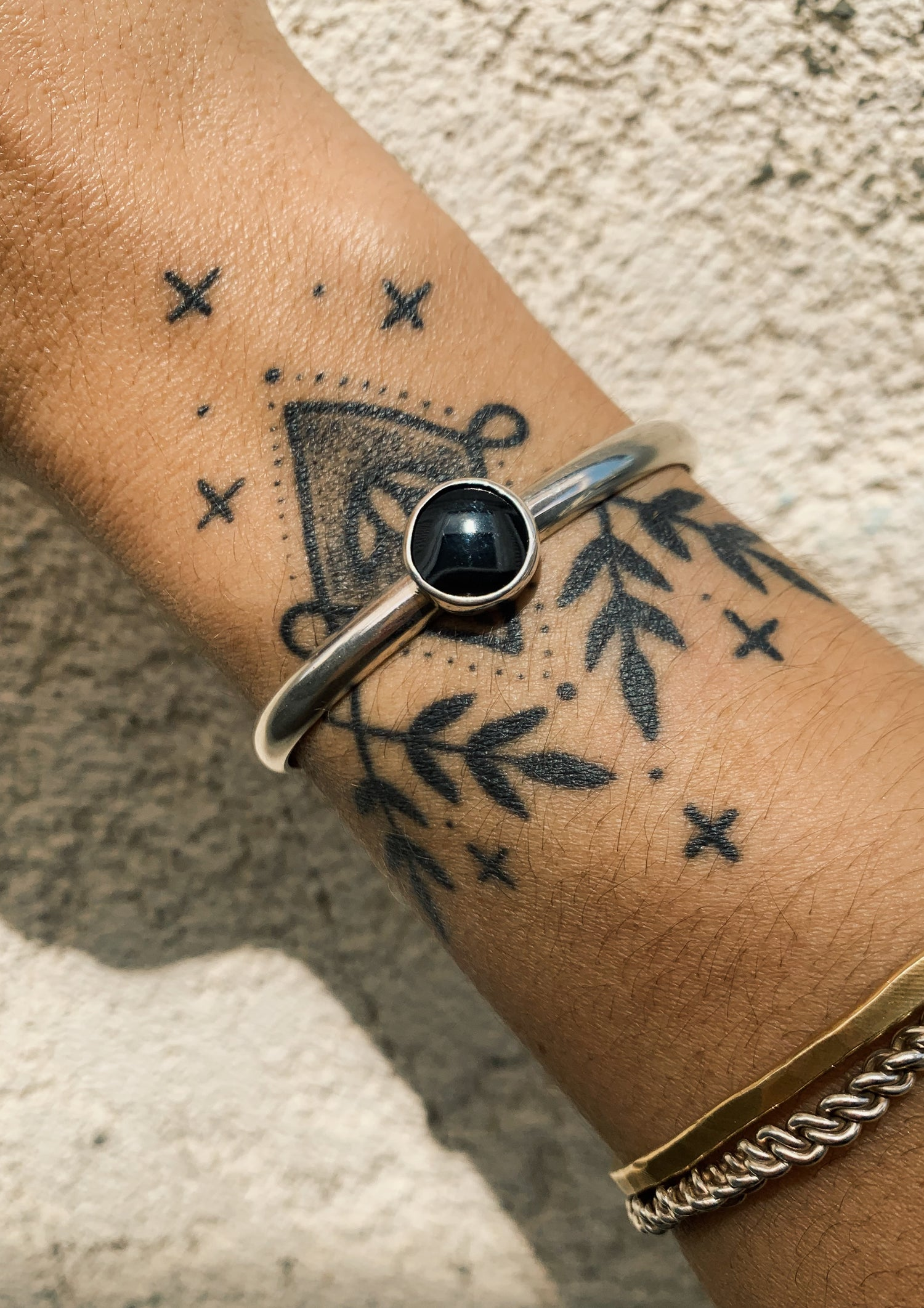 Image of Baby Moon Onyx Cuff
