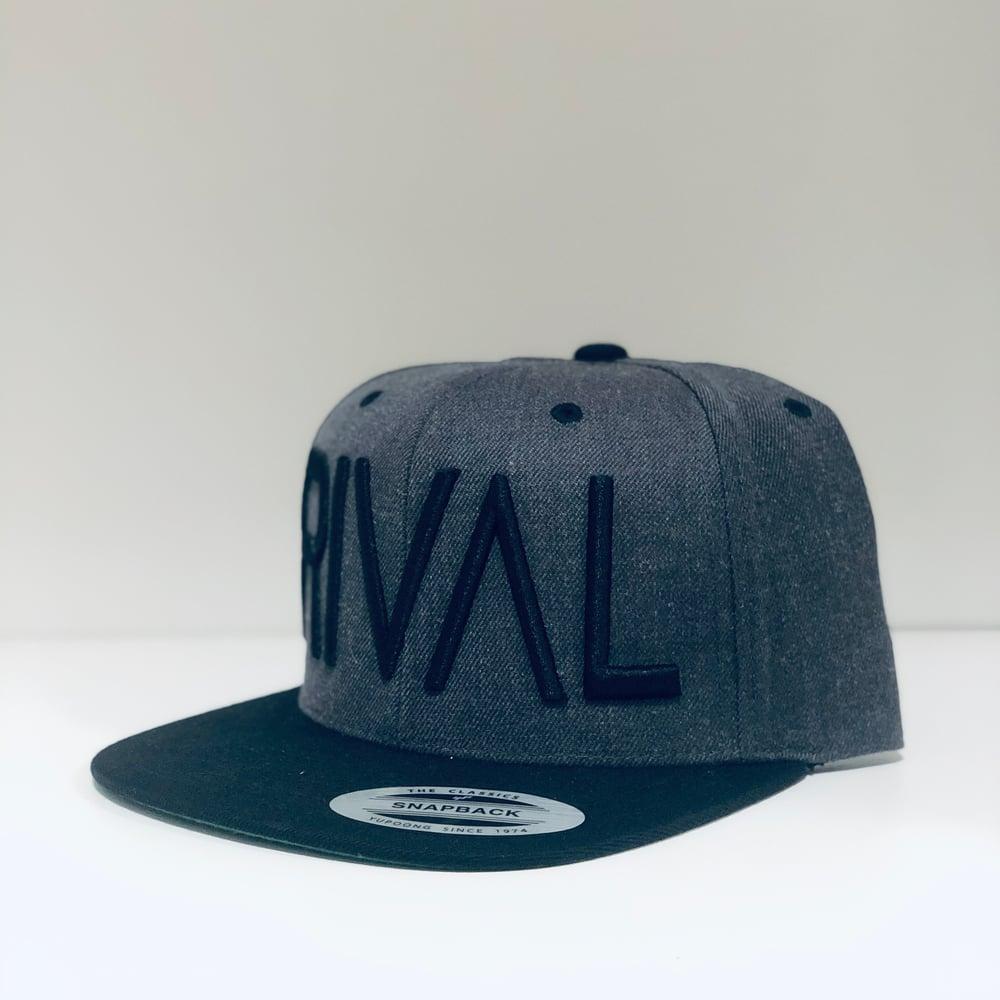 RIVAL Snapback B/Grey