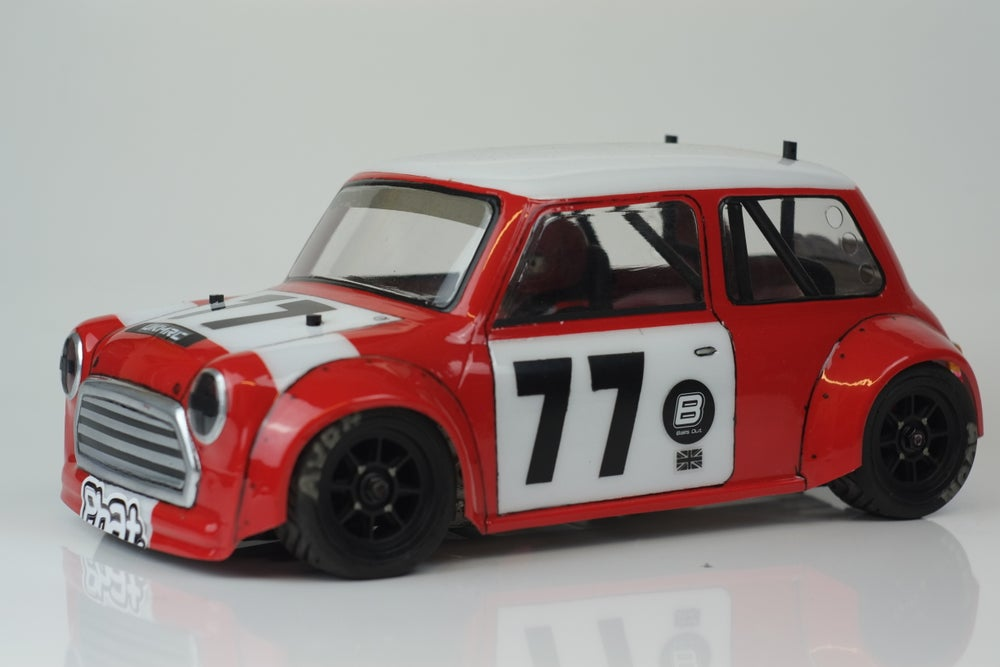 Image of Phat Bodies - Miglia Mini Cooper Bodyshell for Tamiya M-Chassis M01 M03 M05 and MTC