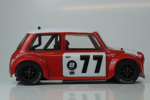 Image of Phat Bodies - Miglia Mini Cooper Bodyshell for Tamiya M-Chassis M01 M03 M05 Xpress FM1S