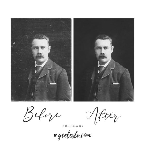 Image of Zero Contact Old Photograph Restoration
