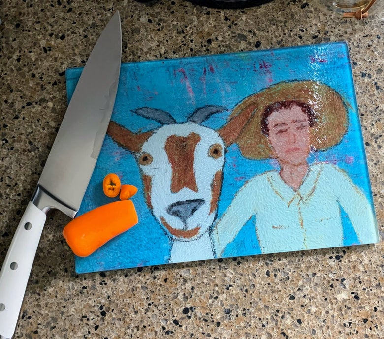 Image of Goat & Pal cutting board