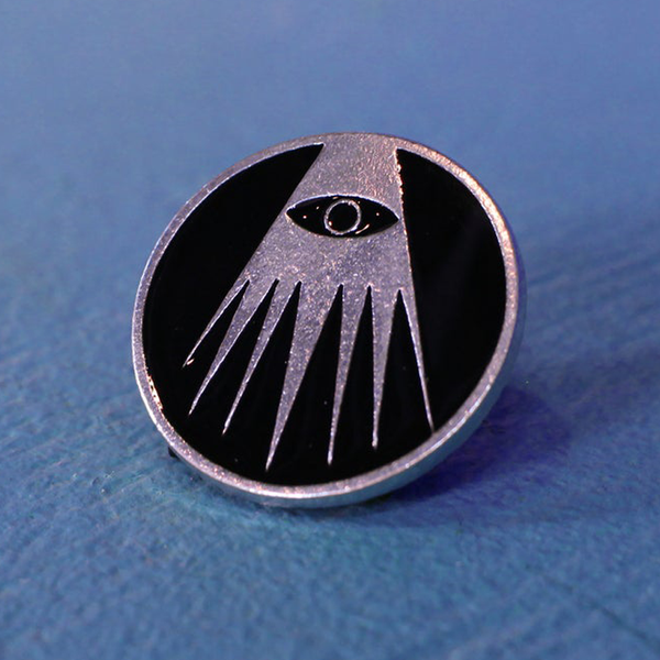 "Image of ""N.O.M.A.D.I.C."" Enamel Pin"