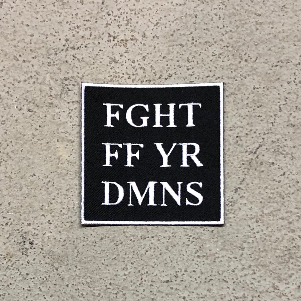 Image of FGHT FF YR DMNS (PATCH)